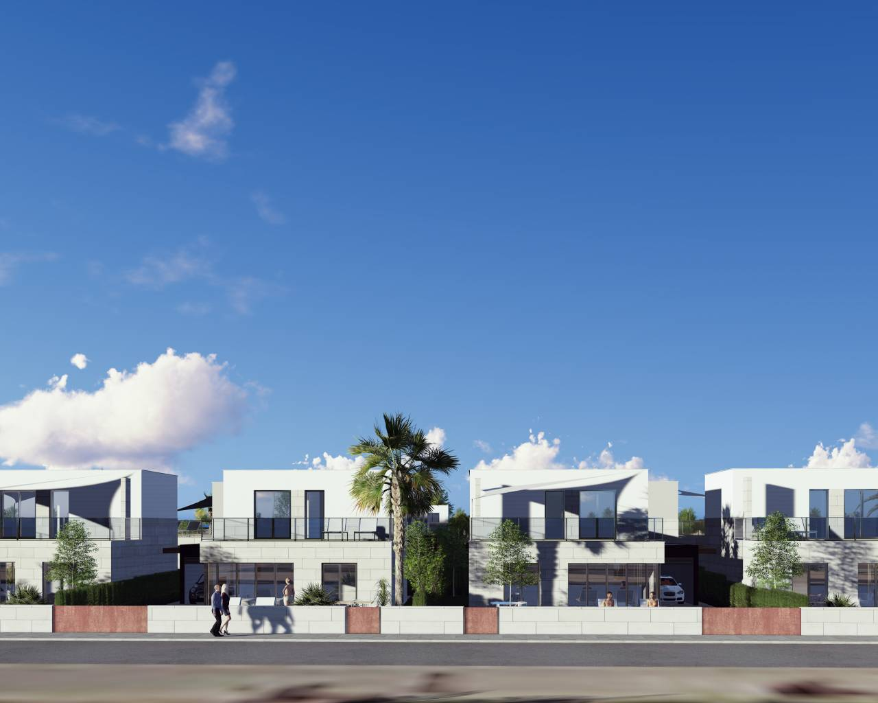 New Build - Villa - Los Alcazares - Salado Village